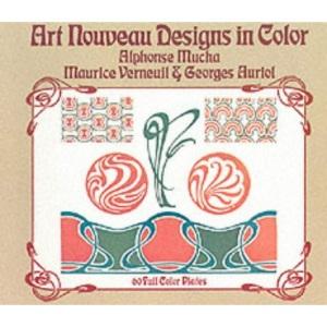 Art Nouveau Designs in Colour