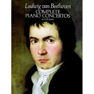 Complete Piano Concertos in Full Score (Music Series)