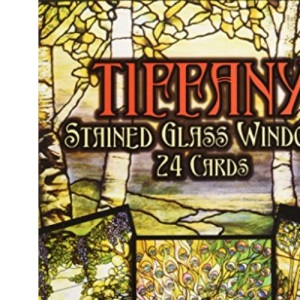 Tiffany Stained Glass Windows: 24 Ready-to-Mail Full-Colour Postcards (Card Books)