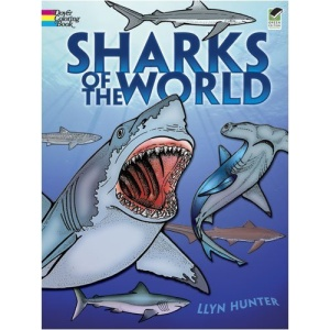 Sharks of the World Colouring Book
