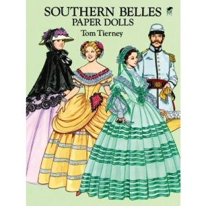 Southern Belles Paper Dolls in Full Colour (Dover Paper Dolls)