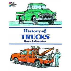 History of Trucks Coloring Book (Colouring Books)