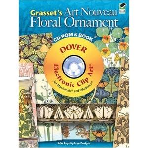 Grassets Art Nouveau CD rom Bk (Dover Electronic Clip Art)