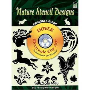 Nature Stencil Designs CD Rom (Dover Pictorial Archives)