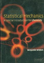 Statistical Mechanics: A Concise Introduction for Chemists