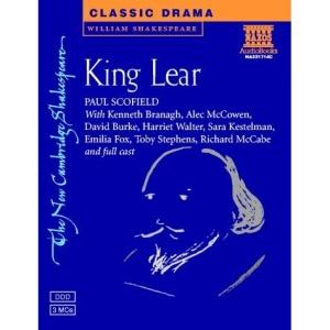 King Lear Audio Cassettes (New Cambridge Shakespeare Audio)