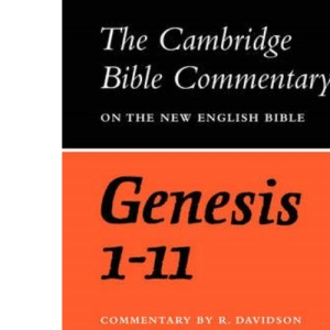 CBC: Genesis 1-11 (Cambridge Bible Commentaries on the Old Testament)
