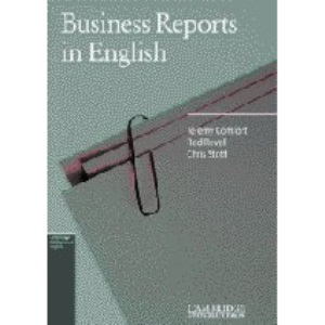 Business Reports in English (Cambridge Professional English)