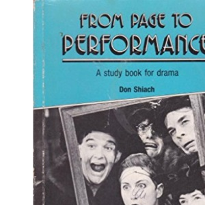 From Page to Performance: A Study Book for Drama
