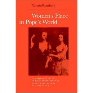 Women's Place in Pope's World (Cambridge Studies in Eighteenth-Century English Literature and Thought)