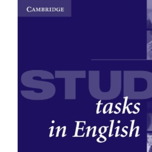 Study Tasks in English Student's book (English for academic purposes)