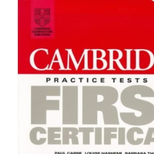 Cambridge Practice Tests for First Certificate 1 Student's book (Fce Practice Tests)