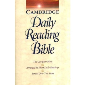 NRSV Cambridge Two-Year Daily Reading Edition Sewn Paperback: The Complete Bible Arranged in Short Daily Readings Spread Over Two Years: Daily Reading ... in Short Daily Readings Spread Over Two Years