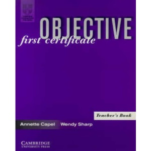 Objective: First Certificate Teacher's book
