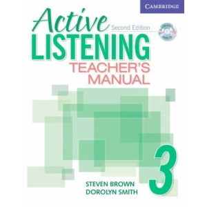 Active Listening 3 Teacher's Manual with Audio CD: Level 3