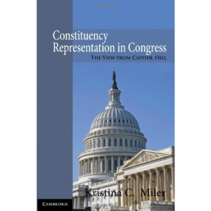 Constituency Representation in Congress: The View from Capitol Hill
