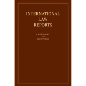 International Law Reports: Volume 137 (International Law Reports, Series Number 137)