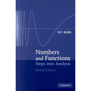 Numbers and Functions: Steps to Analysis