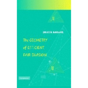 The Geometry of Efficient Fair Division