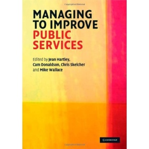 Managing to Improve Public Services