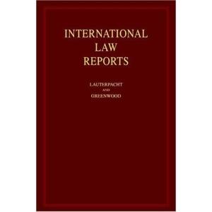International Law Reports: Volume 128