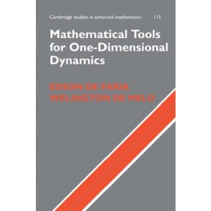 Mathematical Tools for One-Dimensional Dynamics (Cambridge Studies in Advanced Mathematics)