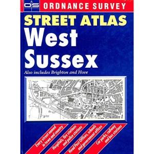 Os Str Atl W Sussex Hb 0540073199 (OS / Philip's street atlases)