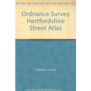 Ordnance Survey Hertfordshire Street Atlas