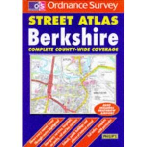 Ordnance Survey Berkshire Street Atlas (OS / Philip's street atlases)