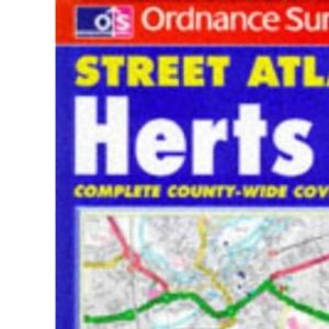 Ordnance Survey Hertfordshire Street Atlas (OS / Philip's street atlases)