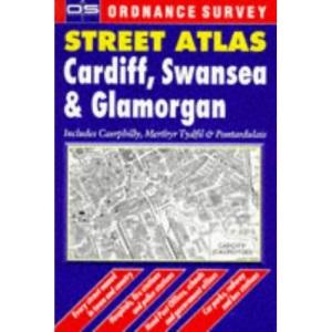 Ordnance Survey Cardiff, Swansea and Glamorgan Street Atlas (OS / Philip's Street Atlases)