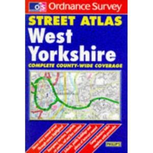 Ordnance Survey West Yorkshire Street Atlas (Ordnance Survey/ Philip's Street Atlases)