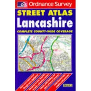 Ordnance Survey Lancashire Street Atlas (OS / Philip's Street Atlases)