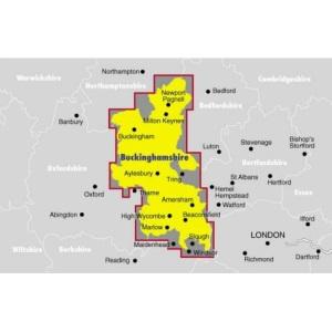 Ordnance Survey Buckinghamshire Street Atlas