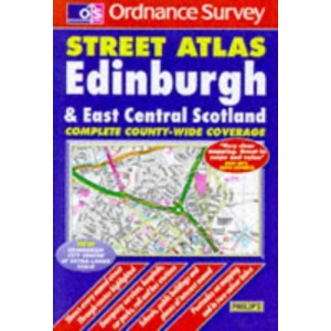 Ordnance Survey Edinburgh and East Central Scotland Street Atlas
