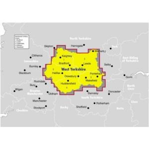 Ordnance Survey West Yorkshire Street Atlas