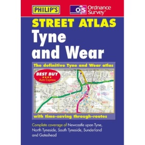 Tyne and Wear and Northumberland Street Atlas (Pocket Street Atlas)