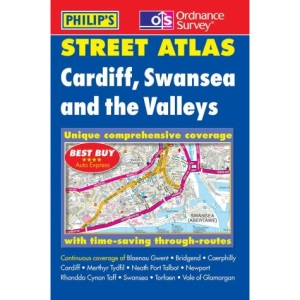 Cardiff, Swansea and the Valleys Street Atlas (Pocket Street Atlas)