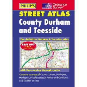 County Durham and Teesside Street Atlas (Pocket Street Atlas)