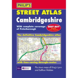 Cambridgeshire Street Atlas (Pocket Street Atlas)