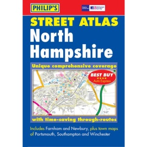 Philip's Street Atlas: North Hampshire (Pocket Street Atlas)