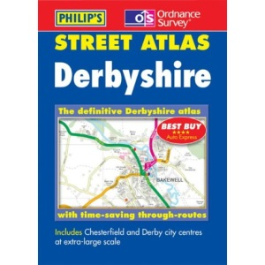 Philip's Street Atlas Derbyshire: Pocket (Pocket Street Atlas)