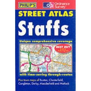 Staffordshire Street Atlas (Pocket Street Atlas)