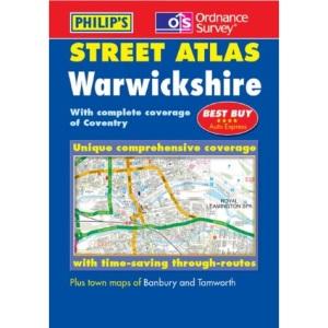 Philip's Street Atlas Warwickshire (OS / Philip's Street Atlases)