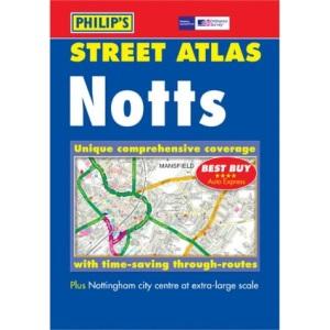 Philip's Street Atlas Nottinghamshire (OS / Philip's Street Atlases)