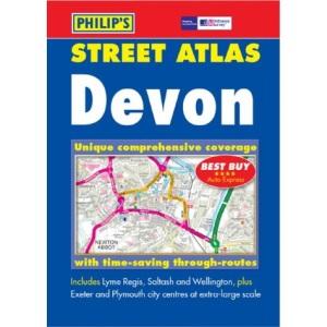 Devon Street Atlas: Pocket Edition (Pocket Street Atlas)