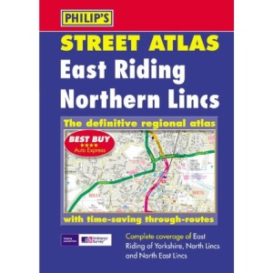 East Riding and Northern Lincolnshire Street Atlas (Pocket Street Atlas)