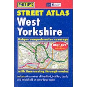 Philip's Street Atlas West Yorkshire: Pocket (Pocket Street Atlas)