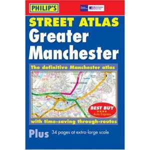 Philip's Street Atlas Greater Manchester: Pocket (Philip's Street Atlases)