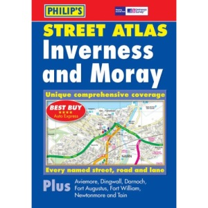 Philip's Street Atlas Inverness and Moray: Pocket